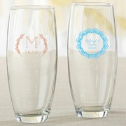 Stemless Champagne Glass (9 oz) - Rustic Charm Wedding