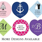 Personalized Hang Tags Set of 36