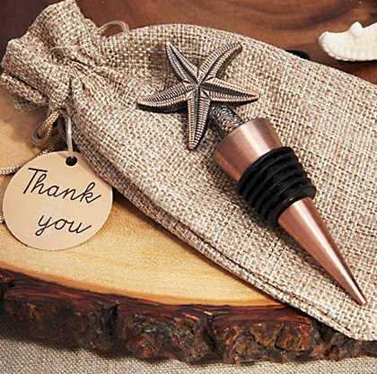 Vintage Design Starfish Bottle Stopper
