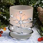 Snowflake Tea Light Candle Holder