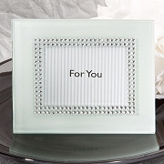 White Photo Frames Bling Collection
