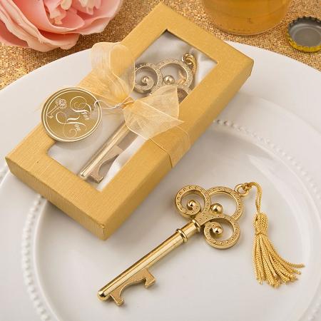 gold vintage skeleton key bottle opener. Black Bedroom Furniture Sets. Home Design Ideas