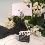 Movie Theme Clapboard Place Card Holders