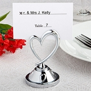 Heart Themed Place Card Holder