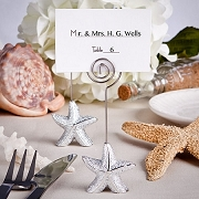 Shimmering Starfish Place Card Holder