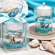 Stunning  Beach Themed Candle