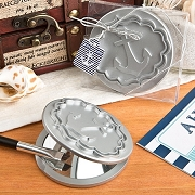 Compact Mirror With Anchor Design