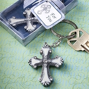 Cross Design Keychain