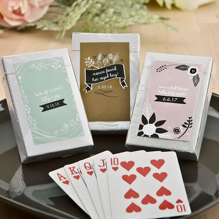 Playing Card Deck Favors