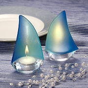 Sailboat Design Candle Holder