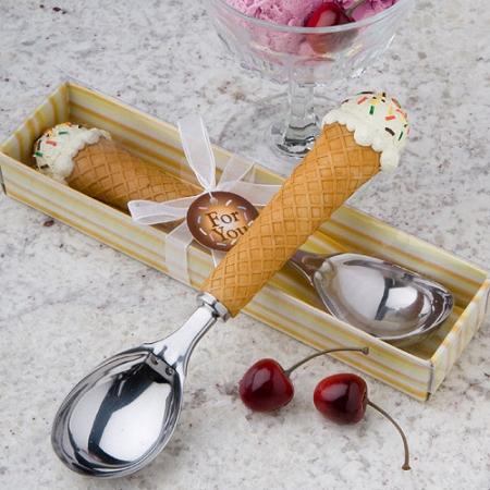 Ice Cream Scoop Ice Cream Cone Design