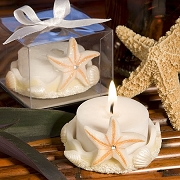 Starfish Design Tealight Holder