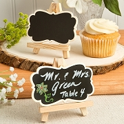 Easel And Blackboard Placecard Holder