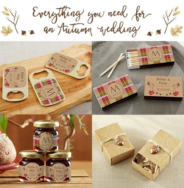 Wedding favor discount coupon code