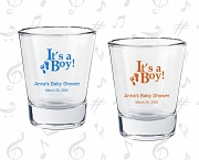 Personalized Baby Shower Shot Glasses - It's A Boy