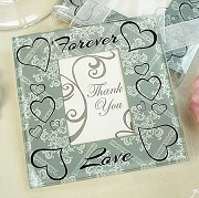 Forever Love Photo Coaster (set of 2)