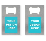 Custom Design Credit Card Bottle Openers