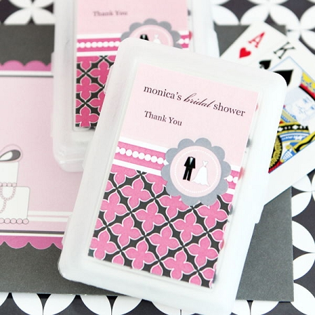 Personalized Playing Cards Wedding Shower Favors