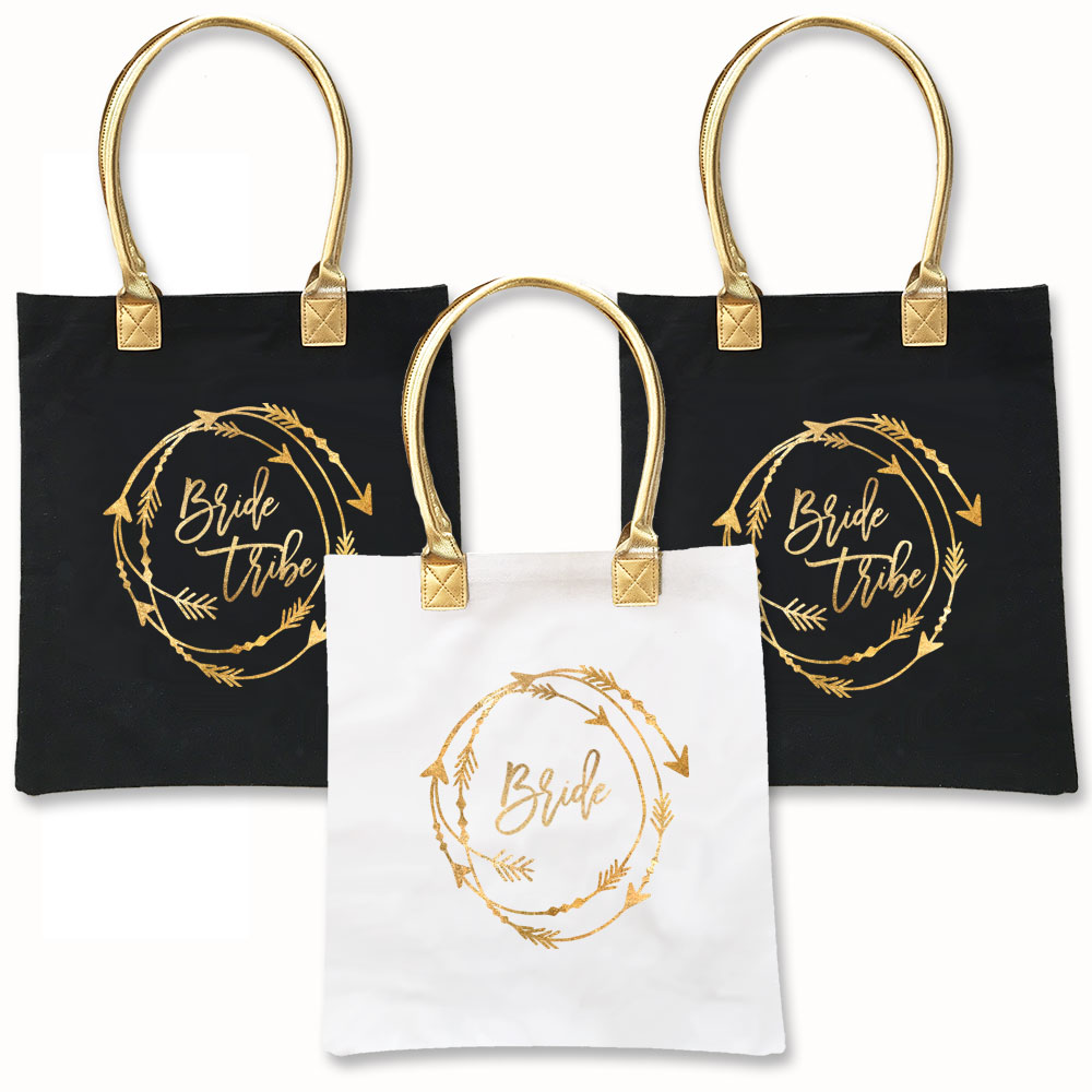 Bride Tribe Tote Bag | Bridal Shower | Bachelorette Party ...