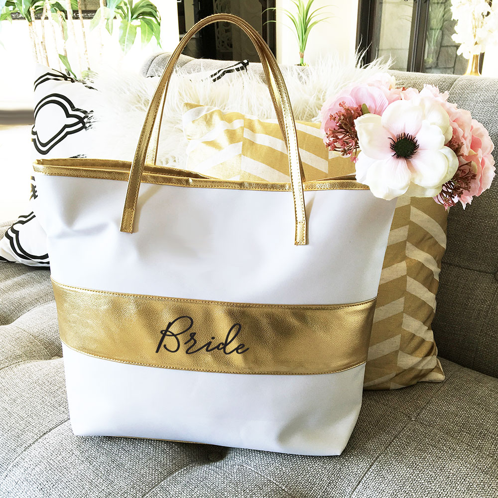 Wedding Party Gift Baskets: Bridal Party Tote Bag