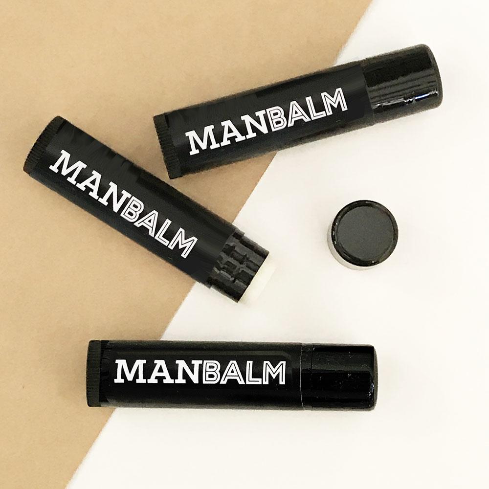 Man Lip Balm Groomsmen Gift Set Of 6
