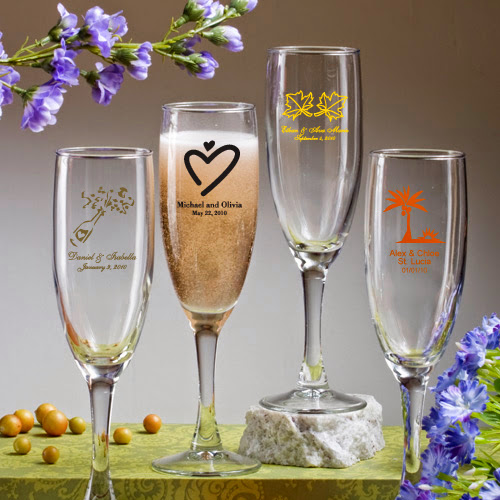 Personalized Champagne Flute 5.75 Ounce