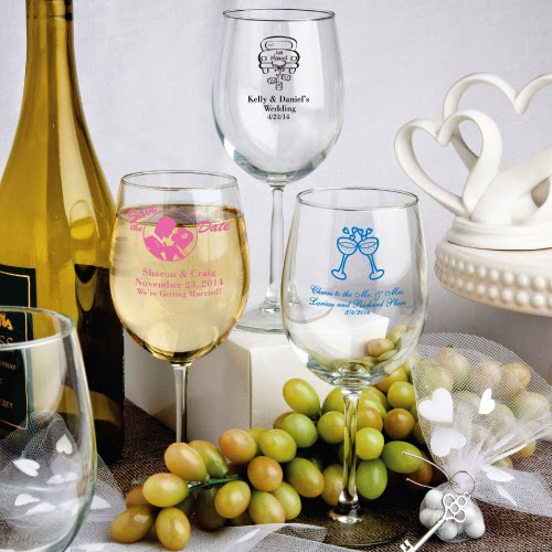 Personalized Wine Goblet 12 Ounce