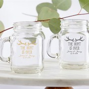 Personalized Mini Mason Jar (4.5 oz) - The Hunt Is Over