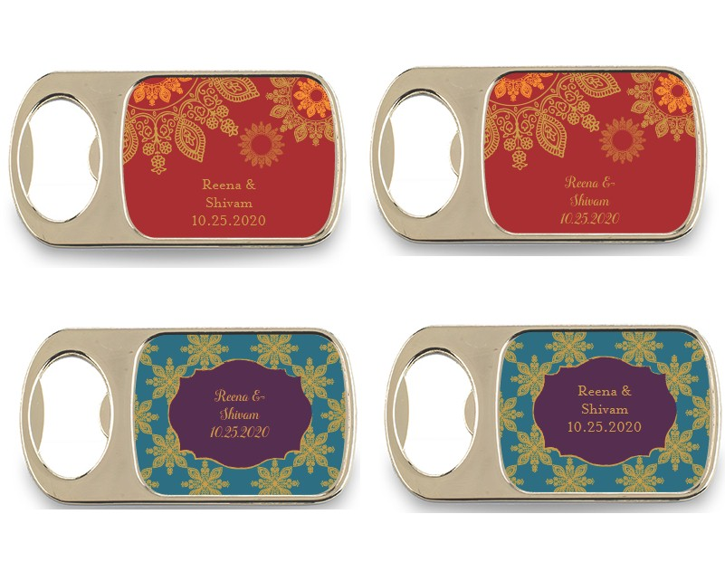 Indian Wedding Favors Wholesale: Personalized Bottle Opener Indian Wedding Favors