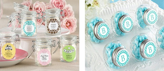 Personalized Jar Favors