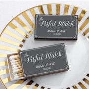 Personalized Wedding Matchboxes - Perfect Match (Set of 50)