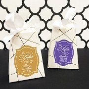The Perfect Blend Personalized Wedding Favor Boxes (Set of 12)