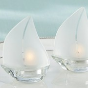 Sailboat Tealight Holders (Set of 4)