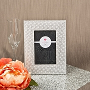 Wide Border Metallic Sliver Picture Frame