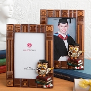 Graduation Owl Themed Photo Frame - Graduation Ceremony Picture Frames