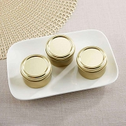 Gold Round Candy Tin - DIY (Set of 12)
