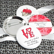 Personalized Wedding Buttons