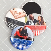 Personalized Wedding Photo Magnets (2.25
