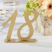 Good As Gold Classic Table Numbers (13-18)