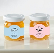 Baby Shower Honey Jar Favors (Set of 12)