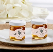 Personalized Clover Honey - Cameo  (set of 12)