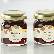 Personalized Strawberry Jam (set of 12) - Fall Leaves
