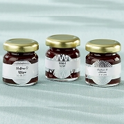 Personalized Strawberry Jam (set of 12) - Silver Foil