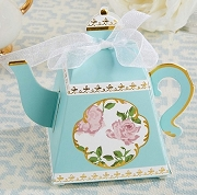 Tea Time Whimsy Teapot Favor Box (Set of 24)