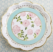 Tea Time Whimsy Paper Plates (Pack of 8 Plates)