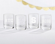 Engraved Shot Glass Party Favors