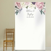 Personalized English Garden Backdrop