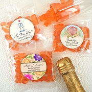 Gummy Bear Wedding Favors - Champagne Flavor