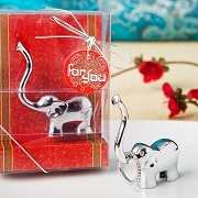 Luck Elephant Jewelry Holder - Silver