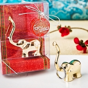 Luck Elephant Jewelry Holder - Gold